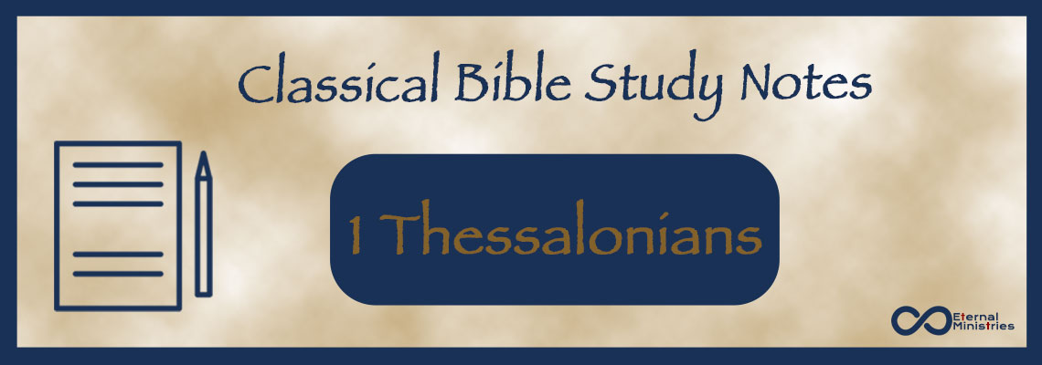 Classical Study Notes from Eternal Ministries, Old Testament - Malachi