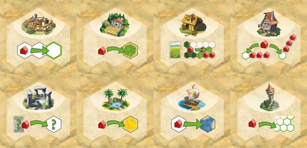 Kingdom Builder Special Action Tiles