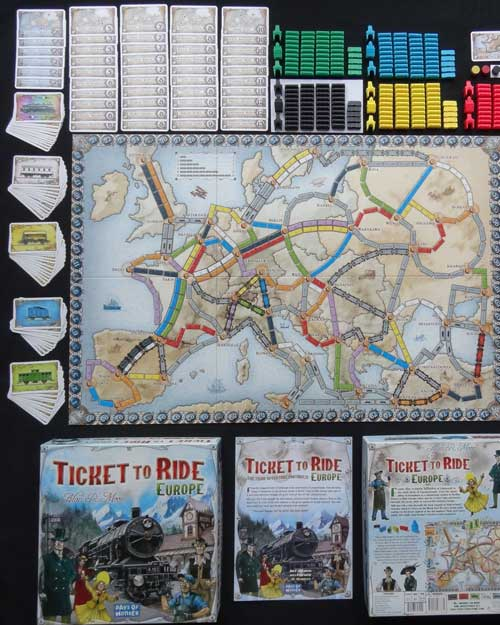 TicketToRide Europe