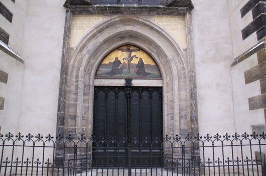 MC Legacy Reformation Castle Church Wittenberg Doors